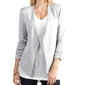 Tart Collections Gray Soft Knit Blazer